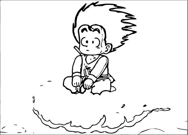 Goku We Coloring Page 309