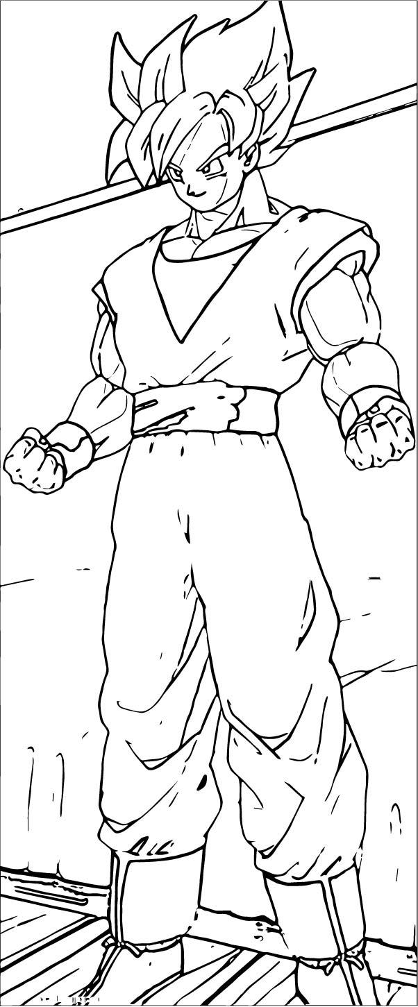 Goku We Coloring Page 310