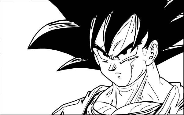 Goku We Coloring Page 313