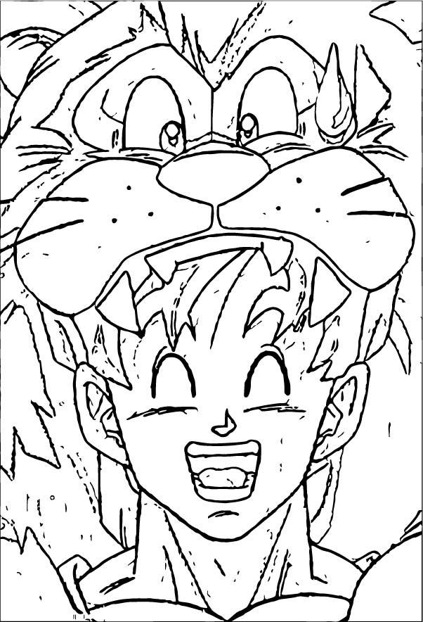 Goku We Coloring Page 314