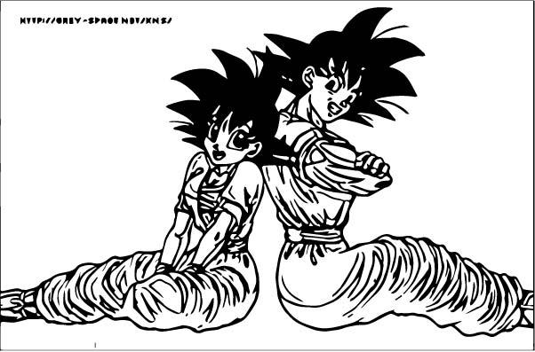 Goku We Coloring Page 315