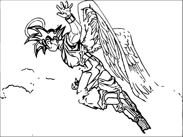 Goku We Coloring Page 316