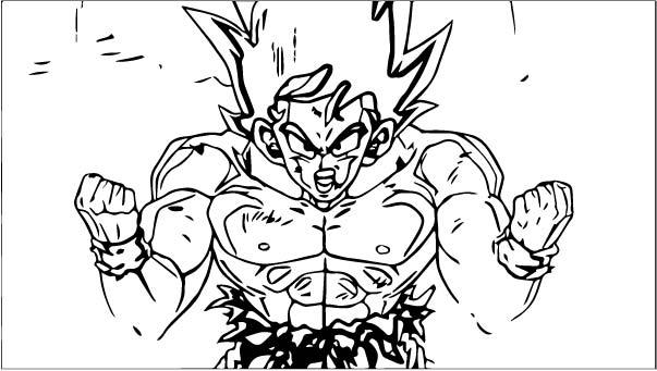 Goku We Coloring Page 319