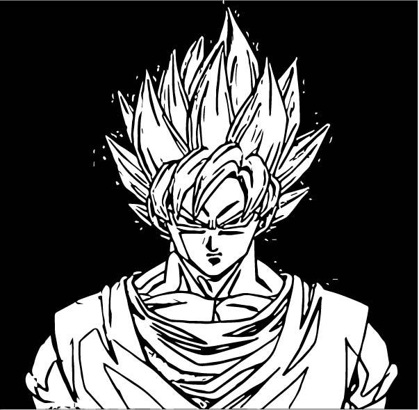 Goku We Coloring Page 320