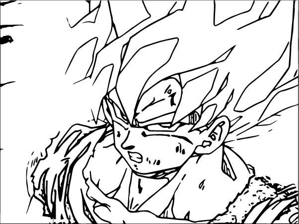 Goku We Coloring Page 321