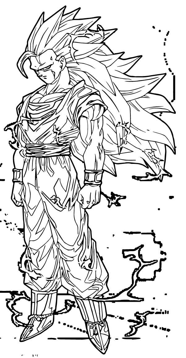 Goku We Coloring Page 322