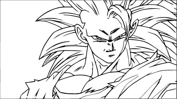 Goku We Coloring Page 325