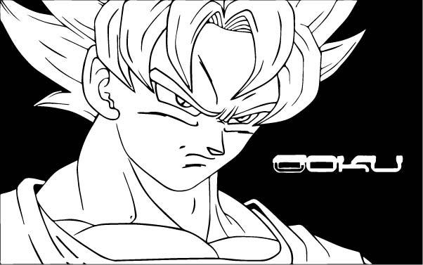 Goku We Coloring Page 329