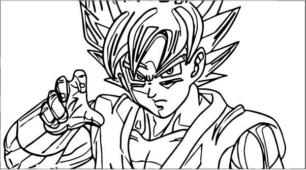 Goku We Coloring Page 332