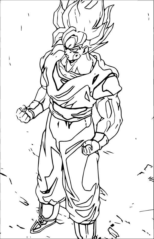 Goku We Coloring Page 333
