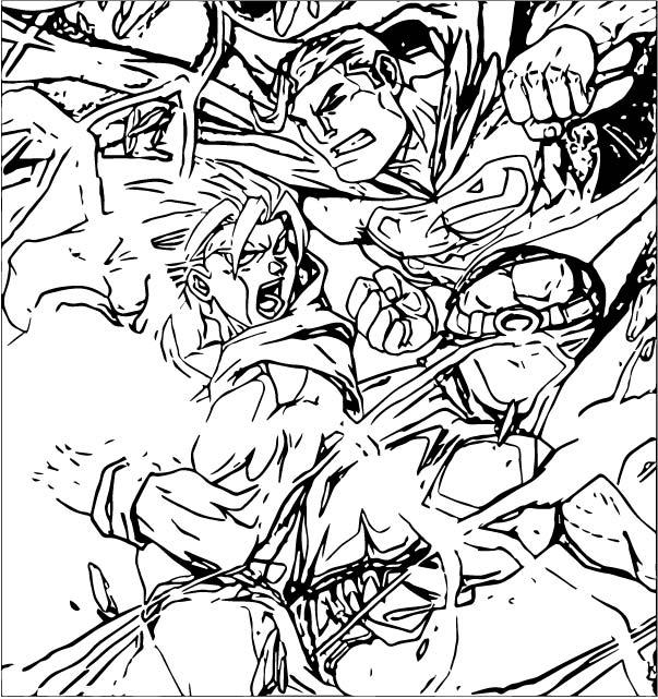 Goku We Coloring Page 337