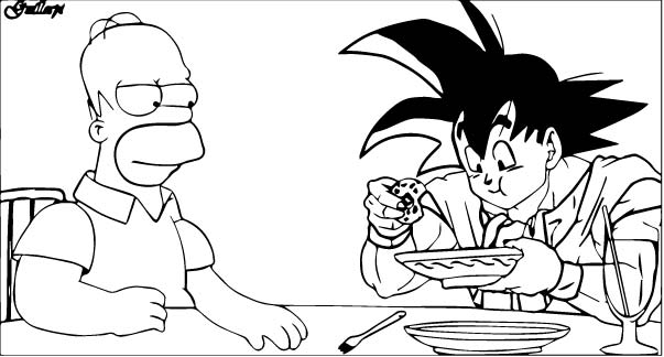 Goku We Coloring Page 341