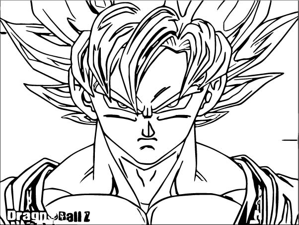 Goku We Coloring Page 346