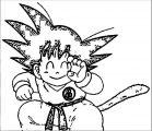 Goku We Coloring Page 348