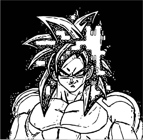 Goku We Coloring Page 349