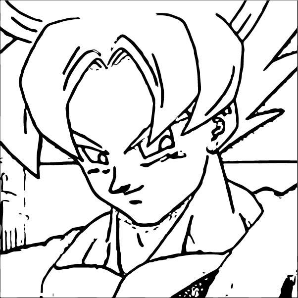 Goku We Coloring Page 350