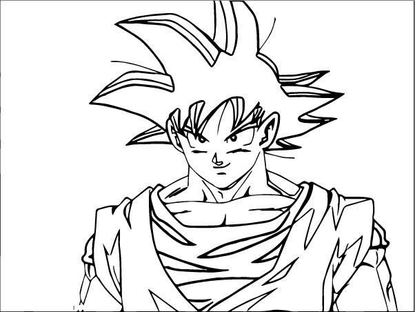 Goku We Coloring Page 352