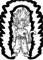 Goku We Coloring Page 360