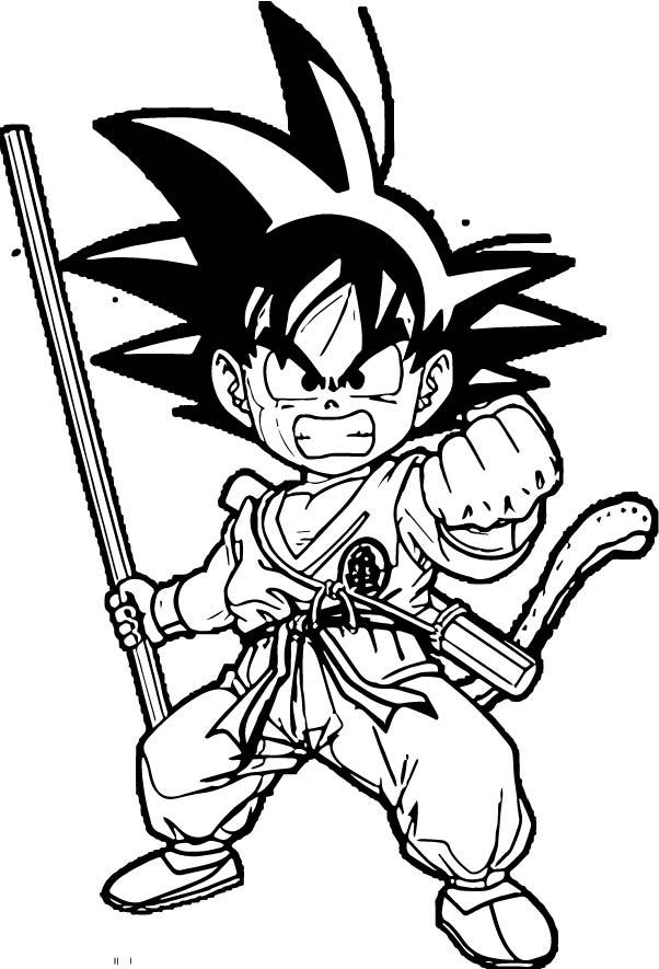 Goku We Coloring Page 362