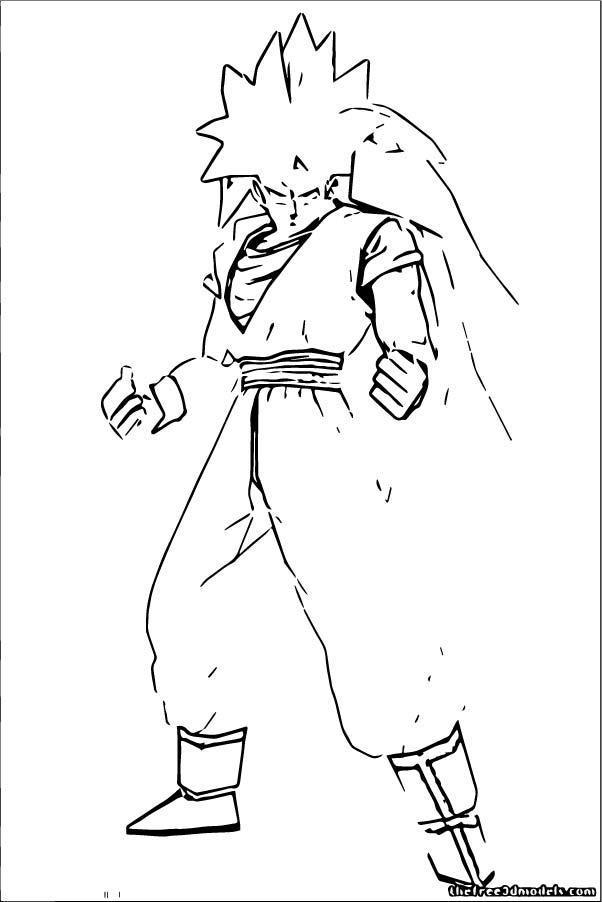 Goku We Coloring Page 363