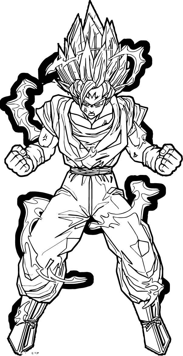 Goku We Coloring Page 366