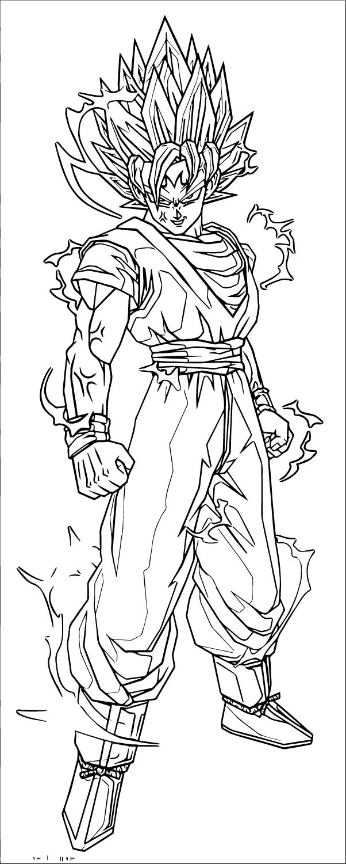 Goku We Coloring Page 367