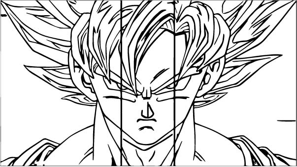 Goku We Coloring Page 368