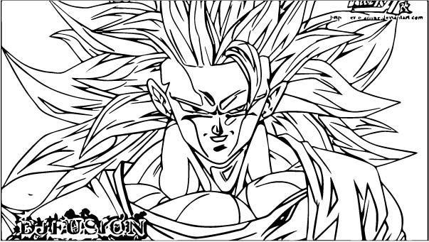 Goku We Coloring Page 371