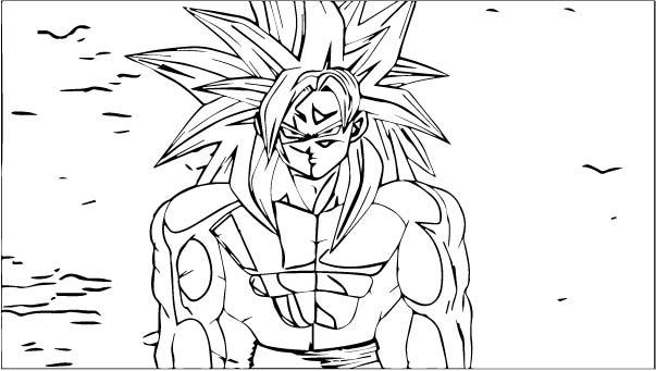 Goku We Coloring Page 372