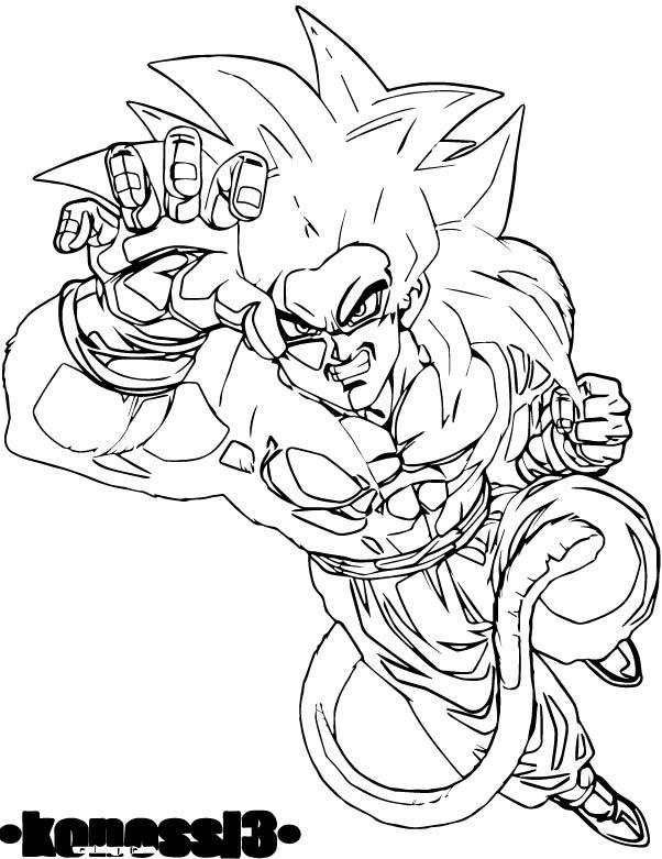 Goku We Coloring Page 376