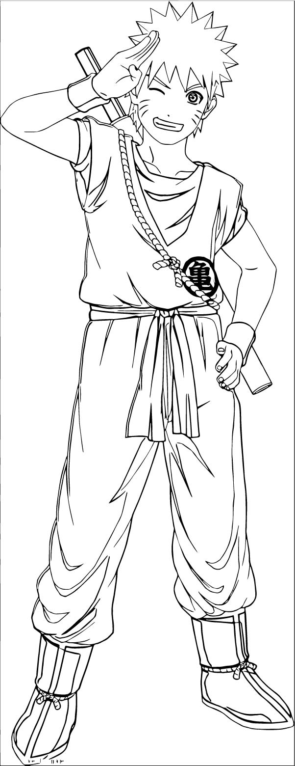 Goku We Coloring Page 378