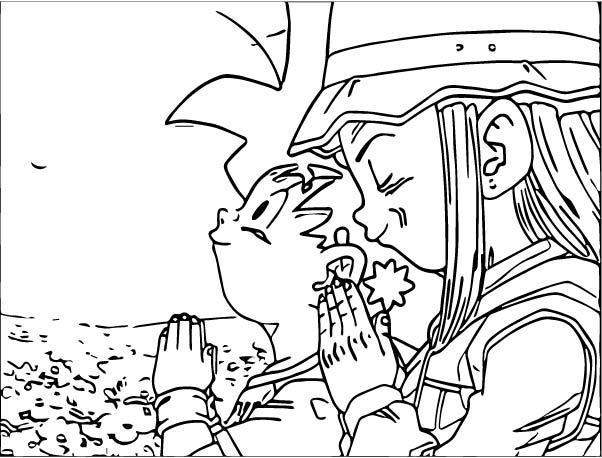 Goku We Coloring Page 382