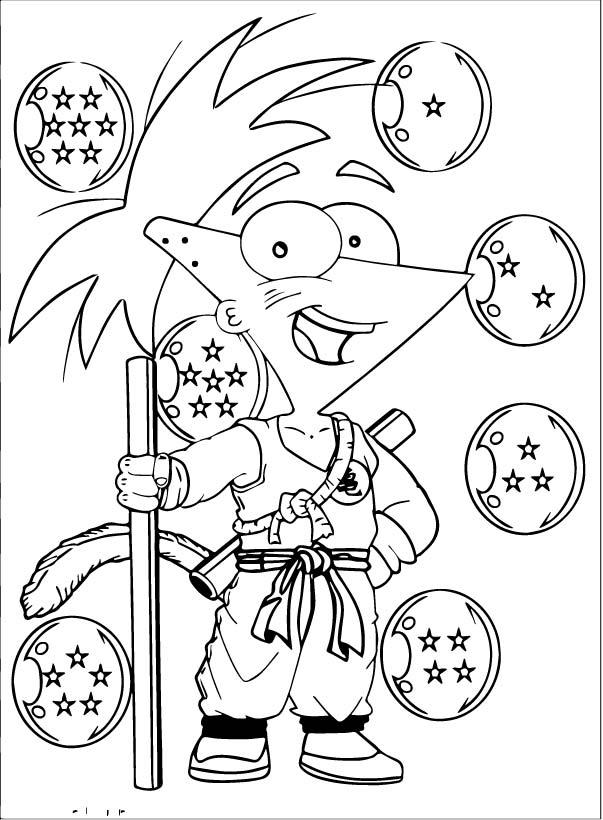 Goku We Coloring Page 383