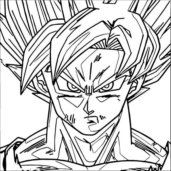 Goku We Coloring Page 384