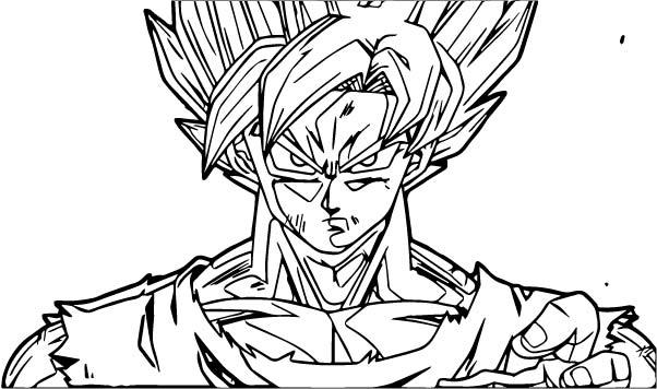 Goku We Coloring Page 387