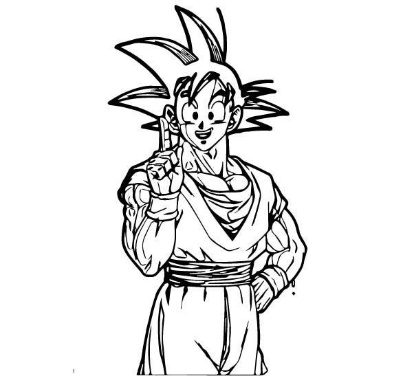 Goku We Coloring Page 389