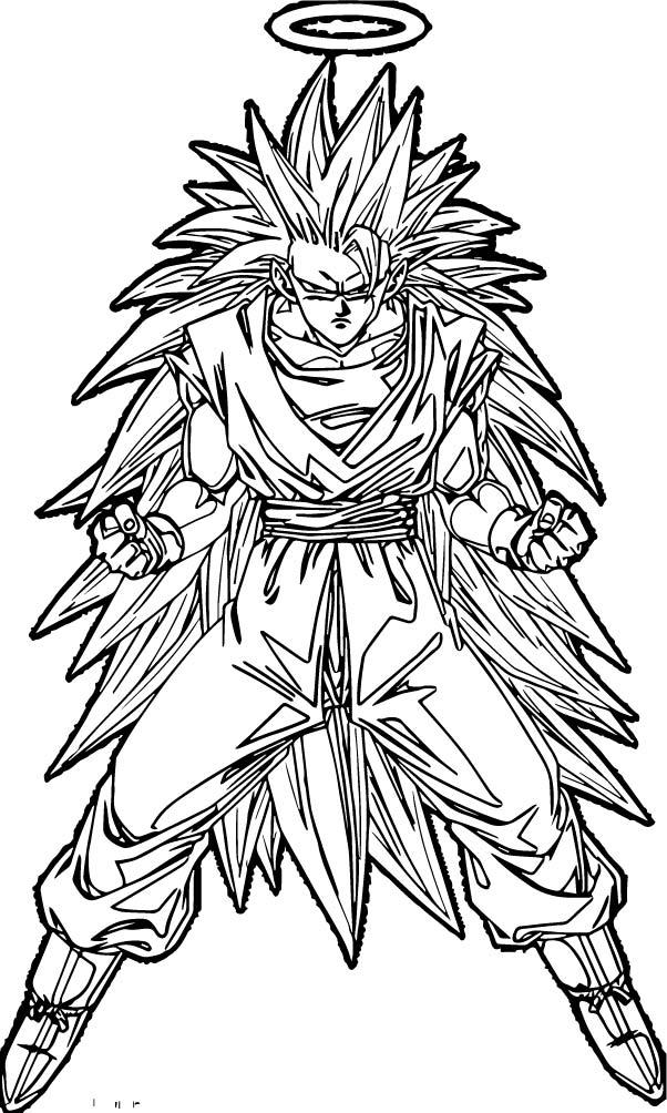 Goku We Coloring Page 396