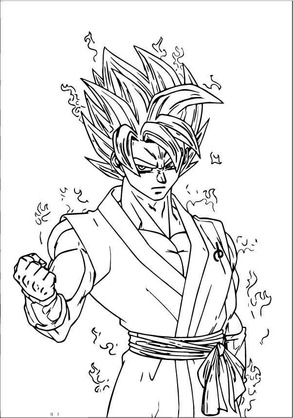 Goku We Coloring Page 399
