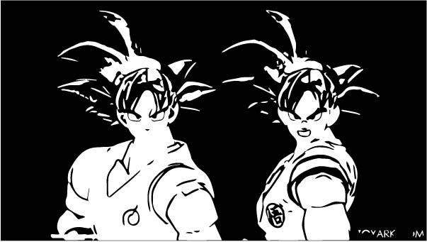 Goku We Coloring Page 402