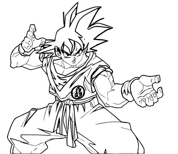 Goku We Coloring Page 412