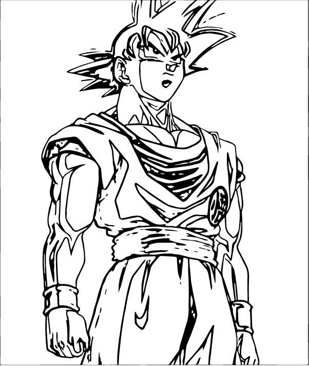 Goku We Coloring Page 417