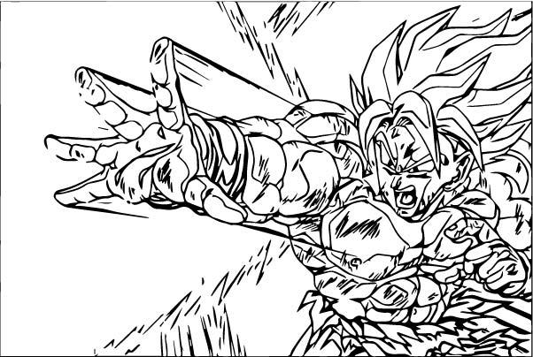 Goku We Coloring Page 421