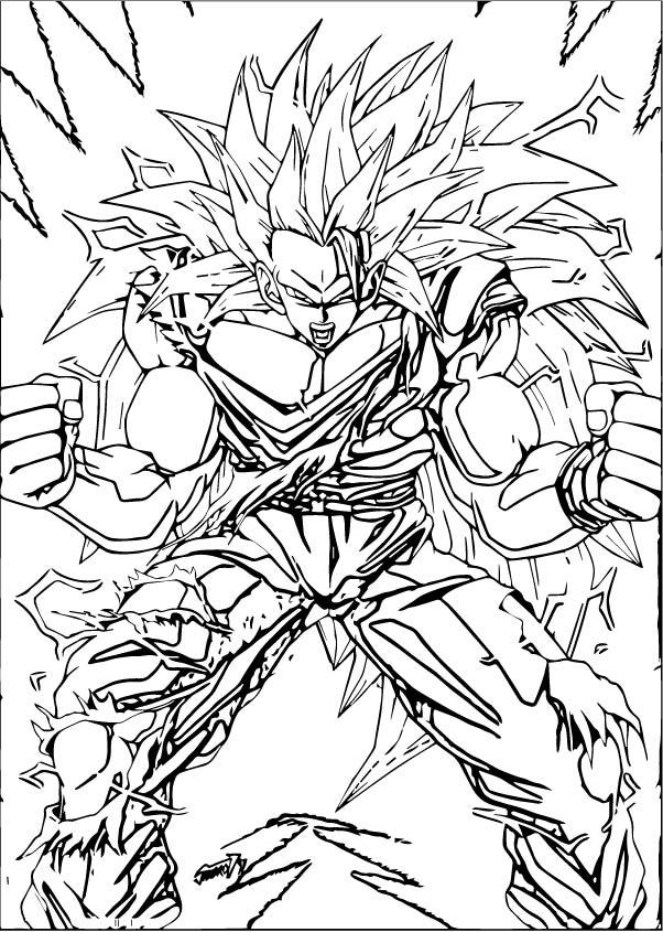 Goku We Coloring Page 422