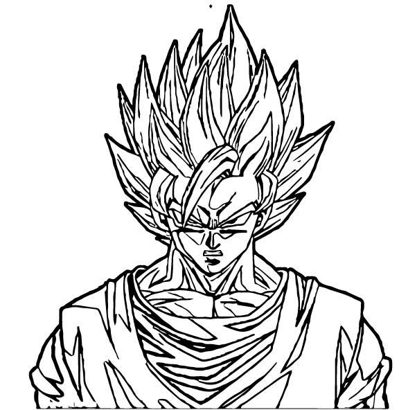 Goku We Coloring Page 429