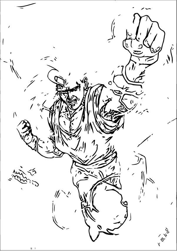 Goku We Coloring Page 430