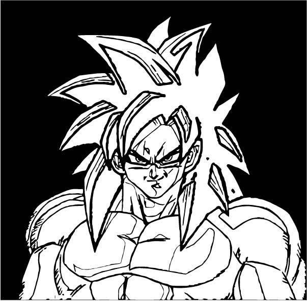 Goku We Coloring Page 433