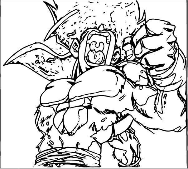 Goku We Coloring Page 434
