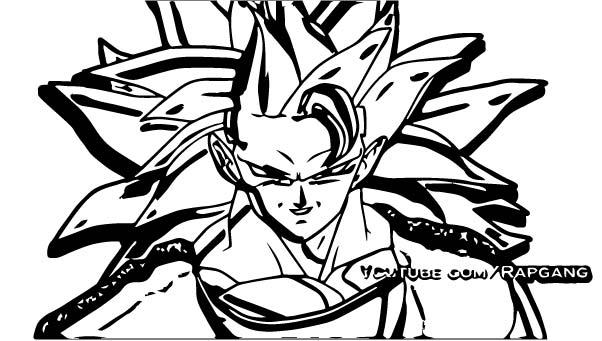 Goku We Coloring Page 438