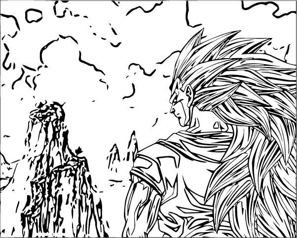 Goku We Coloring Page 447