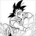 Goku We Coloring Page 450